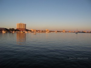 Destin Harbor October 17, 2011