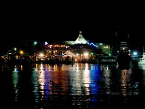Destin Harbor - AJ's at Night