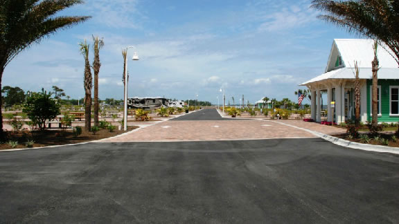 Destin West RV Park Luxury Camping Pet Friendly