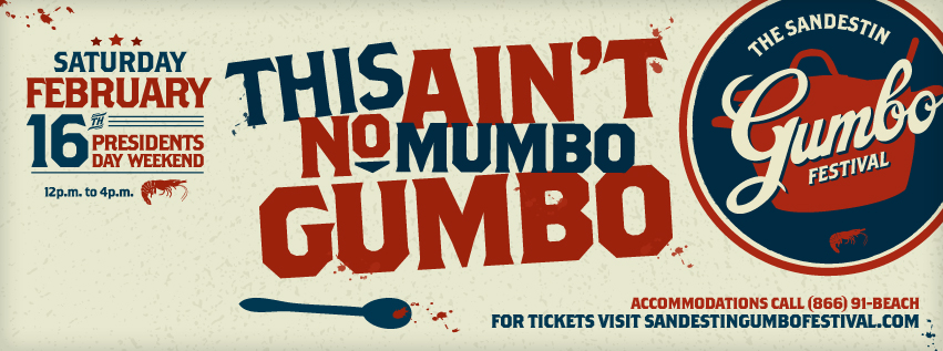 The 24th Annual Sandestin Gumbo Festival  Feb 15-16, 2013
