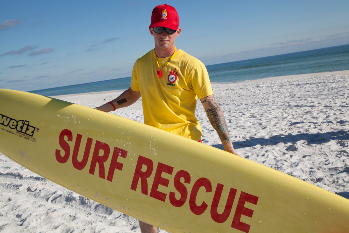 Beach Lifeguards in Okaloosa County