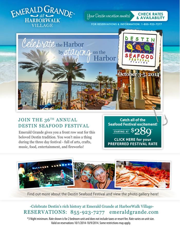 Destin Seafood Festival HarborWalk