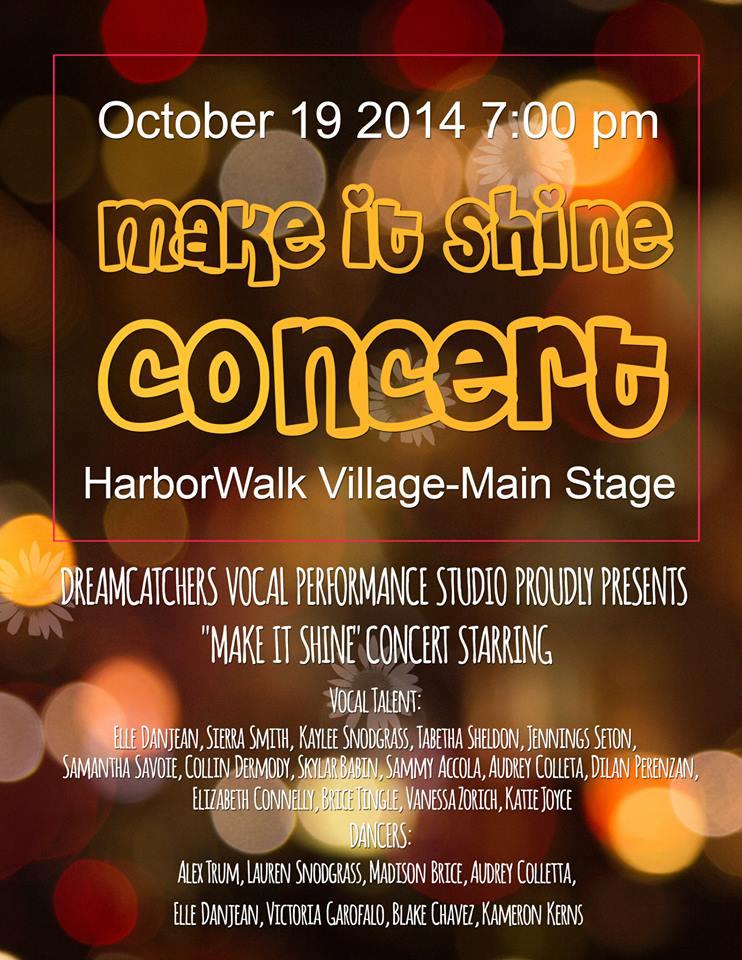 Make It Shine Concert