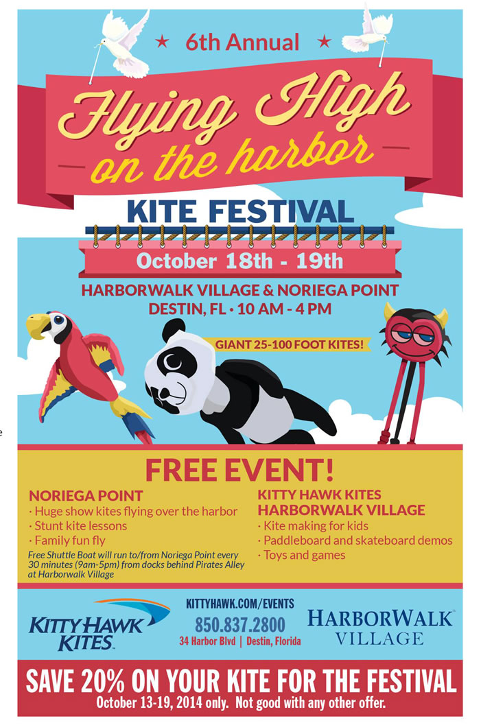 6th Annual Flying High on the Harbor Kite Festival