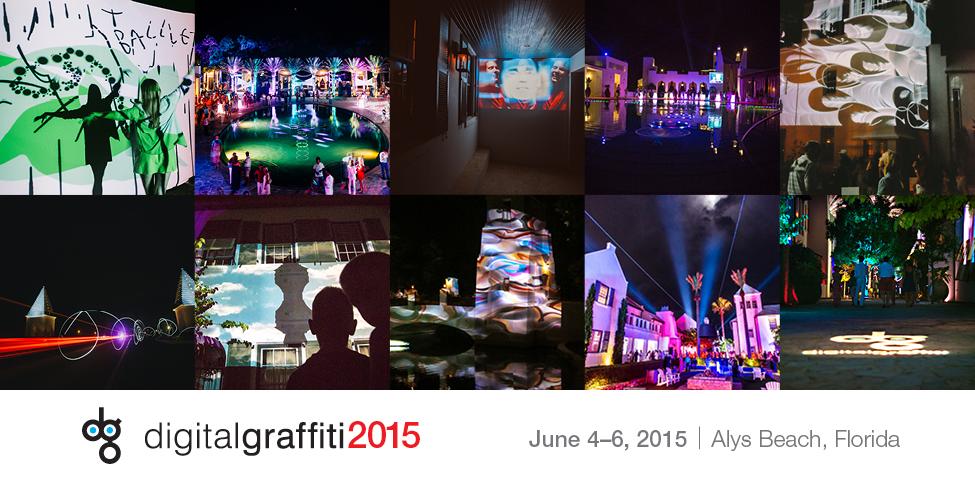 Digital Graffiti Visiting Artist 2015