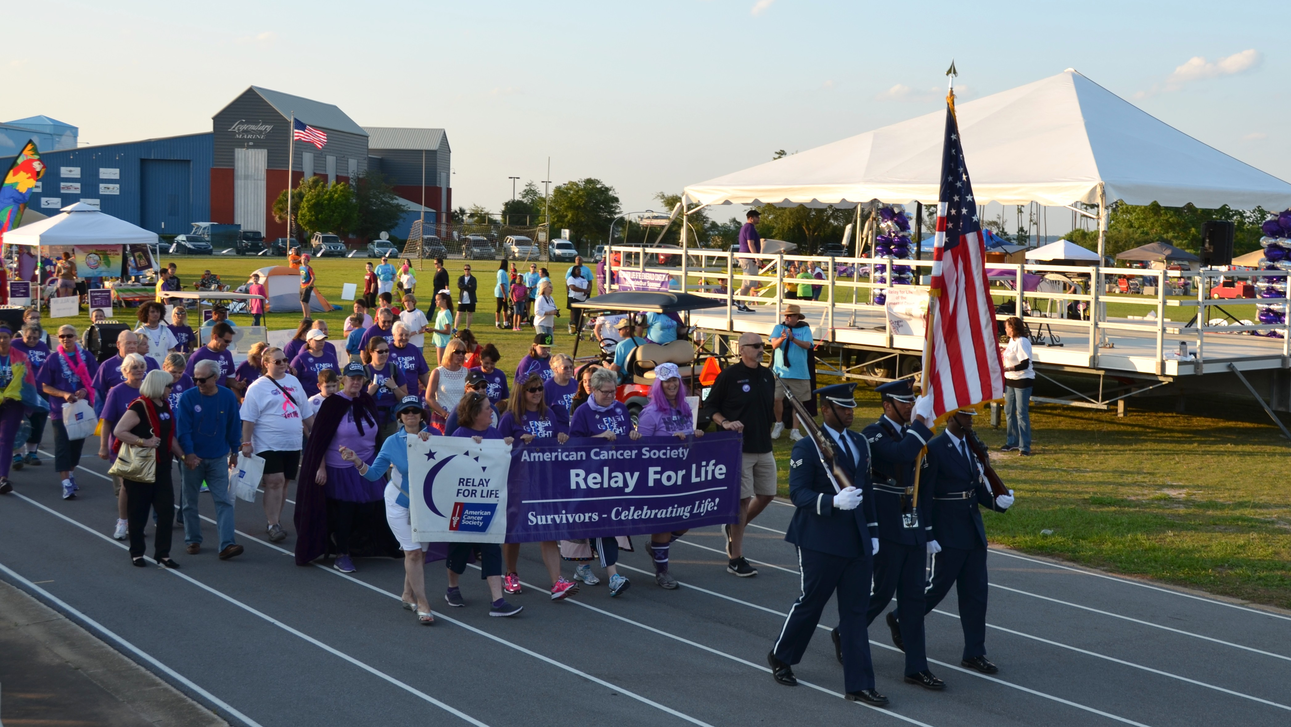 Relay For Life Destin March Events