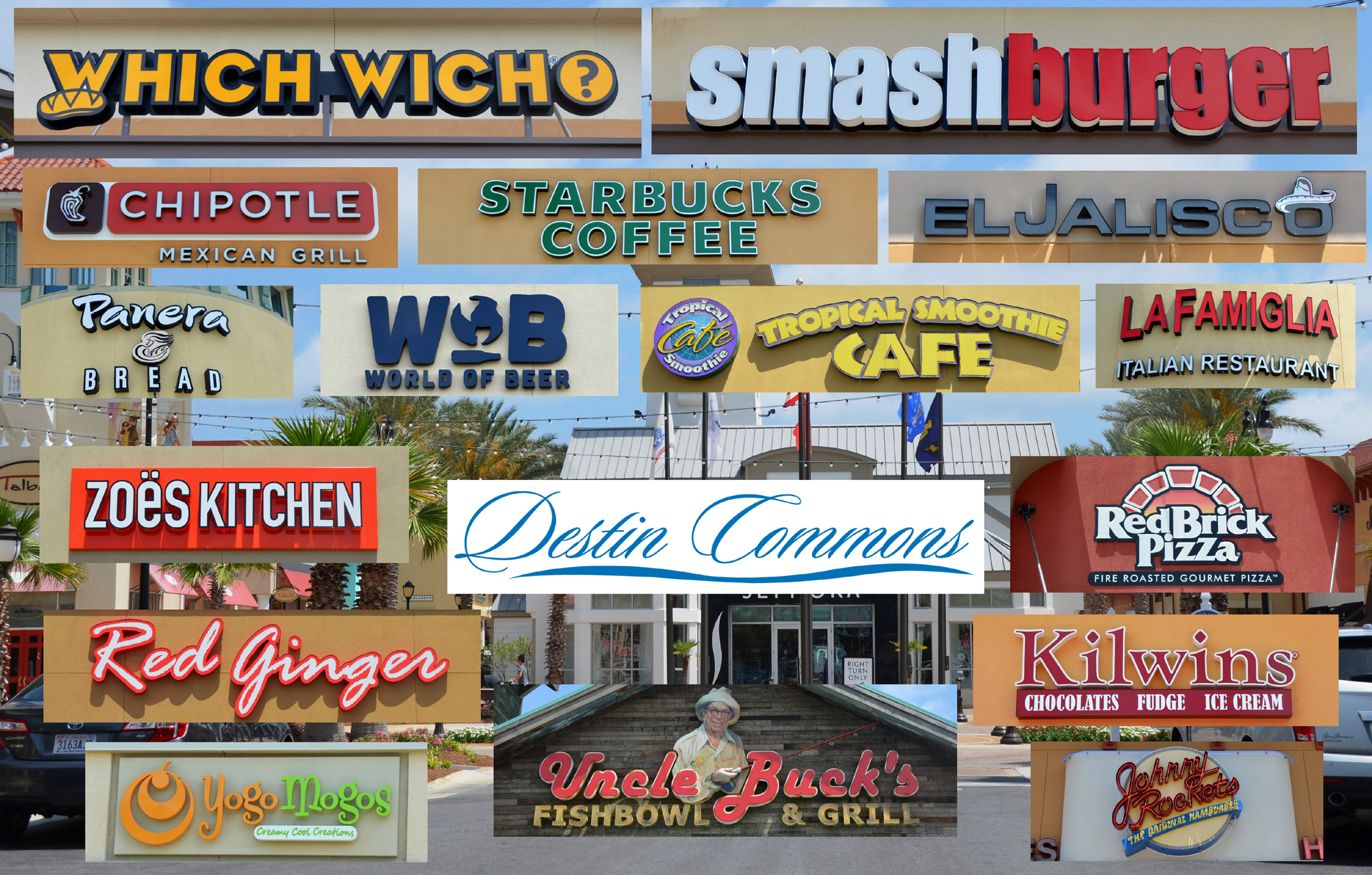 Destin Commons Restaurants