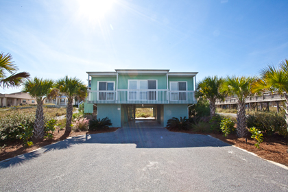 Beach Vacation Home:  Aquarius