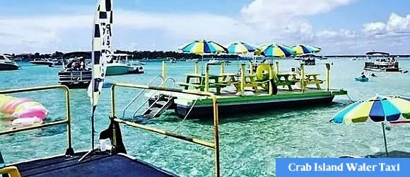 Destin Crab Island Destin Harbor