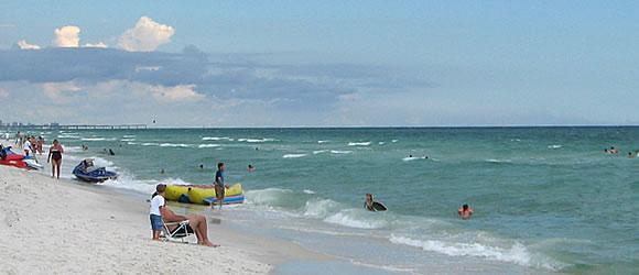 Destin Beach Destin Beaches Fl Destin Map