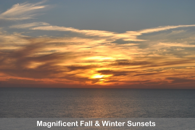 Enjoy Magnificent Sunsets In Destin Vacation Rentals this Fall