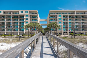The Breakers of Fort Walton Beach monthly winter rentals.